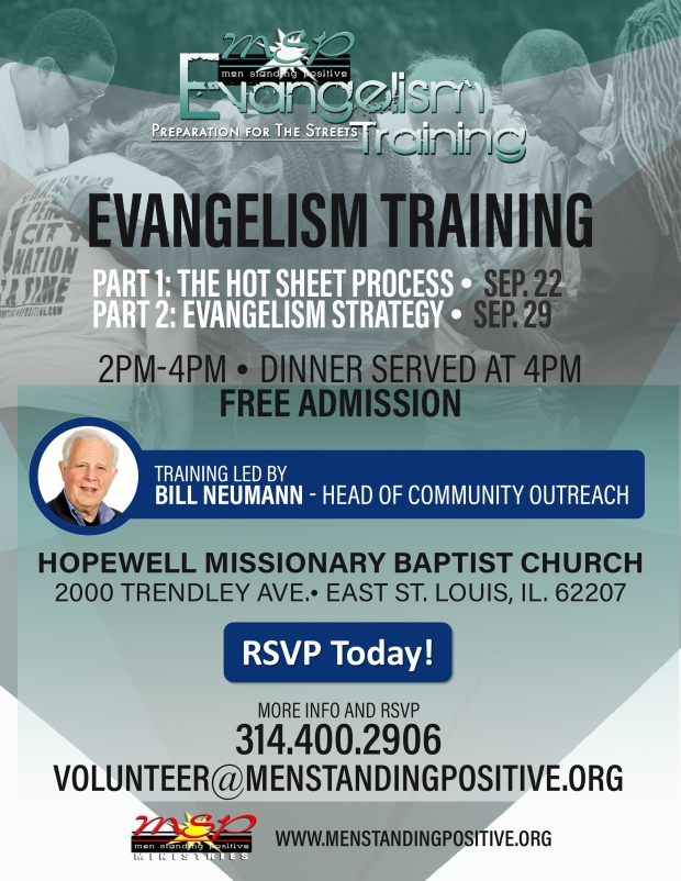 MSP Evangelism Training Poster- Hopewell