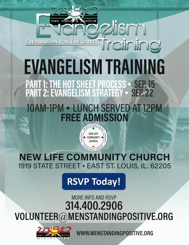 MSP Evangelism Training Poster- New Life